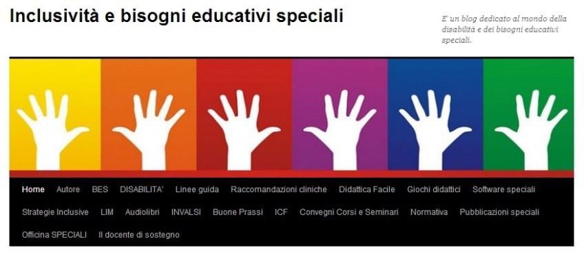 Inclusività e bisogni educativi speciali' è un blog...